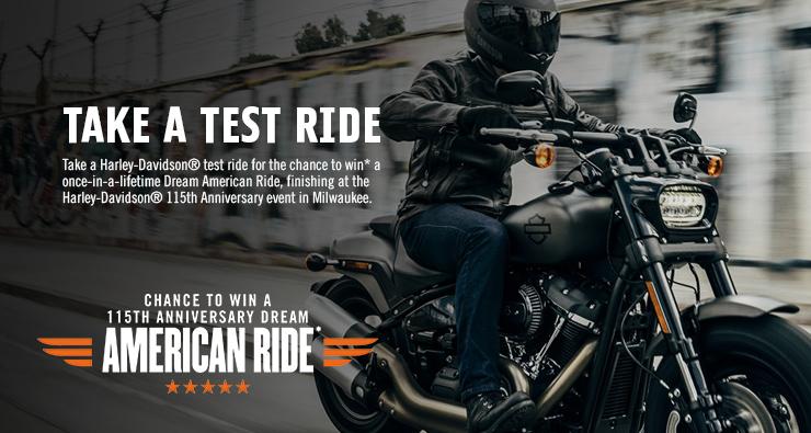 Take a test ride