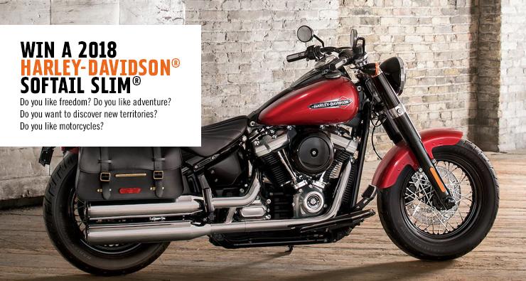 Gagne ta moto Harley-Davidson® Softail Slim® 2018