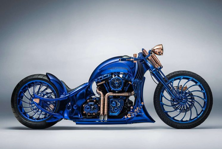 A Harley-Davidson® motorcycle at 2.5 million dollars!
