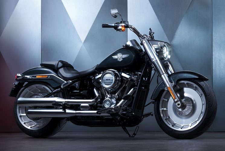 Harley-Davidson Fat Boy®: an all-new version of the iconic model