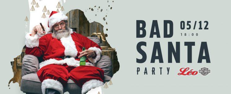 BAD SANTA PARTY LÉO HARLEY-DAVIDSON