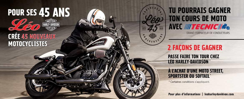 45 ans / 45 nouveaux motocyclistes