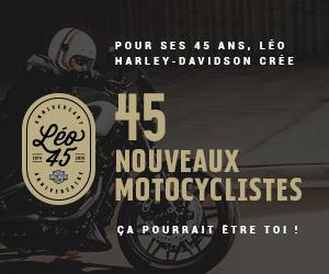 45 ANS, 45 NOUVEAUX MOTOCYCLISTES