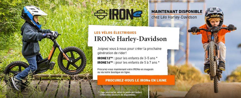 IRONe : Vélos électriques H-D