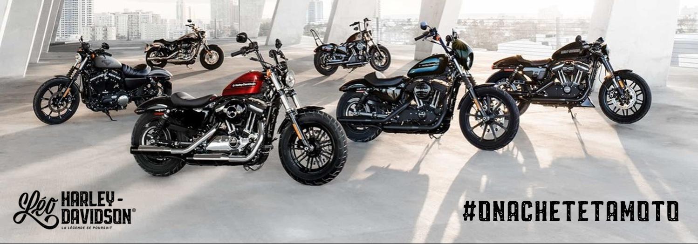 Léo Harley-Davidson est prêt à acheter ta moto!
