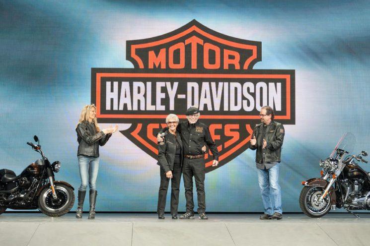 Nancy Davidson, la première Dame de la moto!